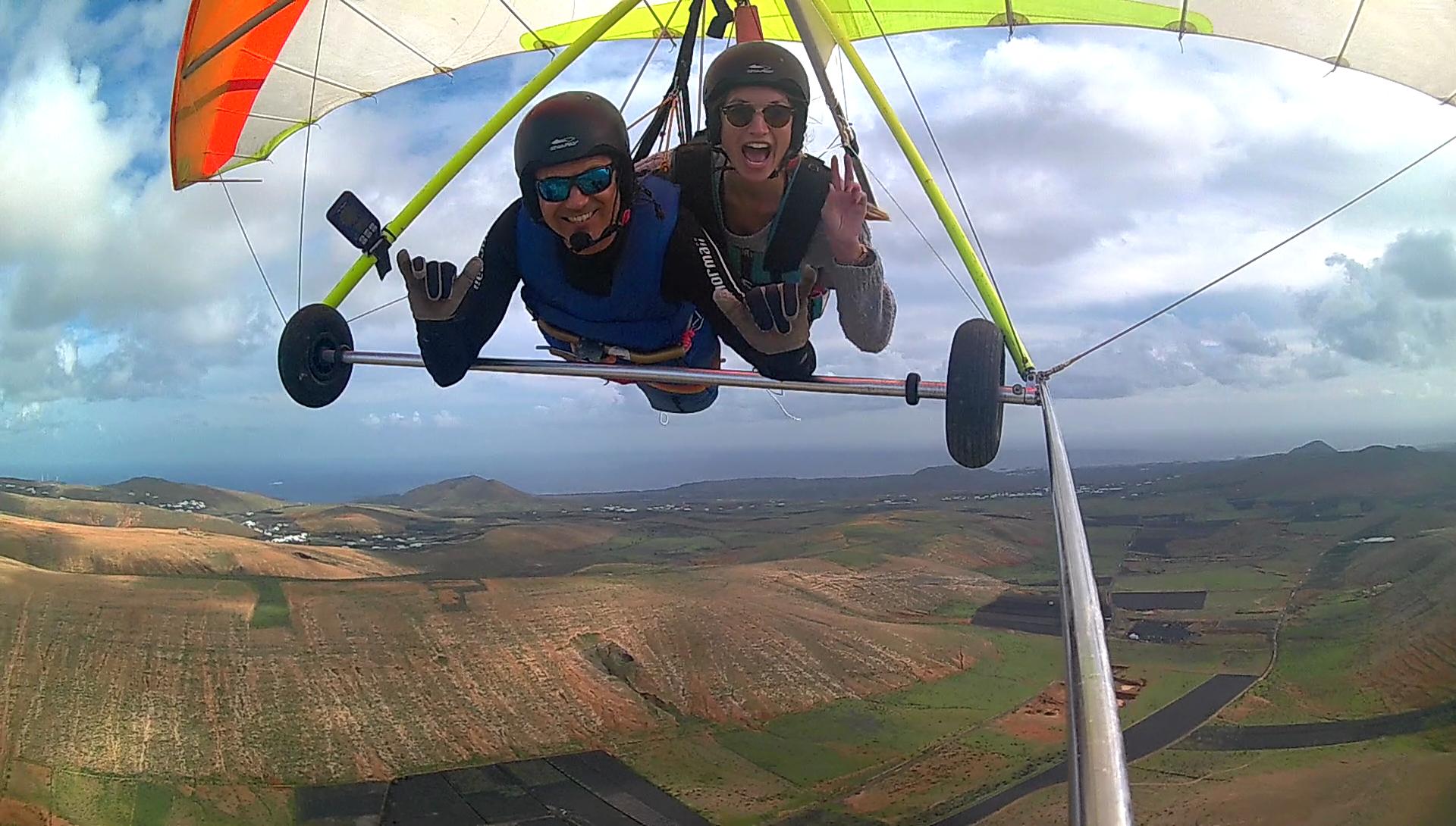 Lanzarote Hang gliding