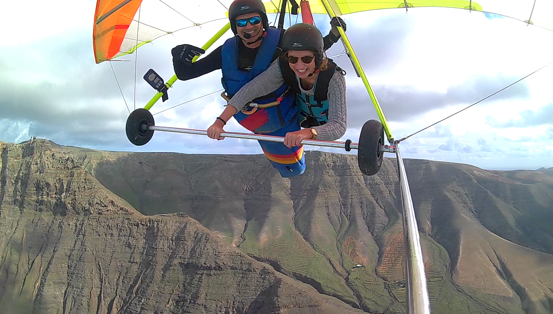 Hang gliding flights Canary Island